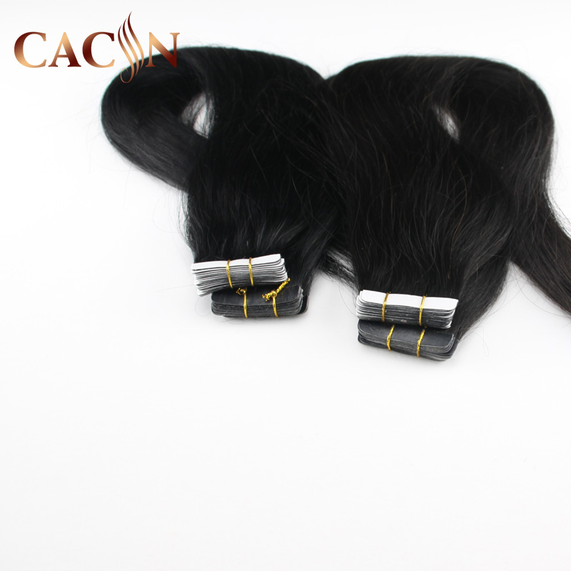 Best Selling 9A Grade Remy Natural Black tape darling hair extension Curly Hair Machine Weft Unprocessed MAde in Vietnam