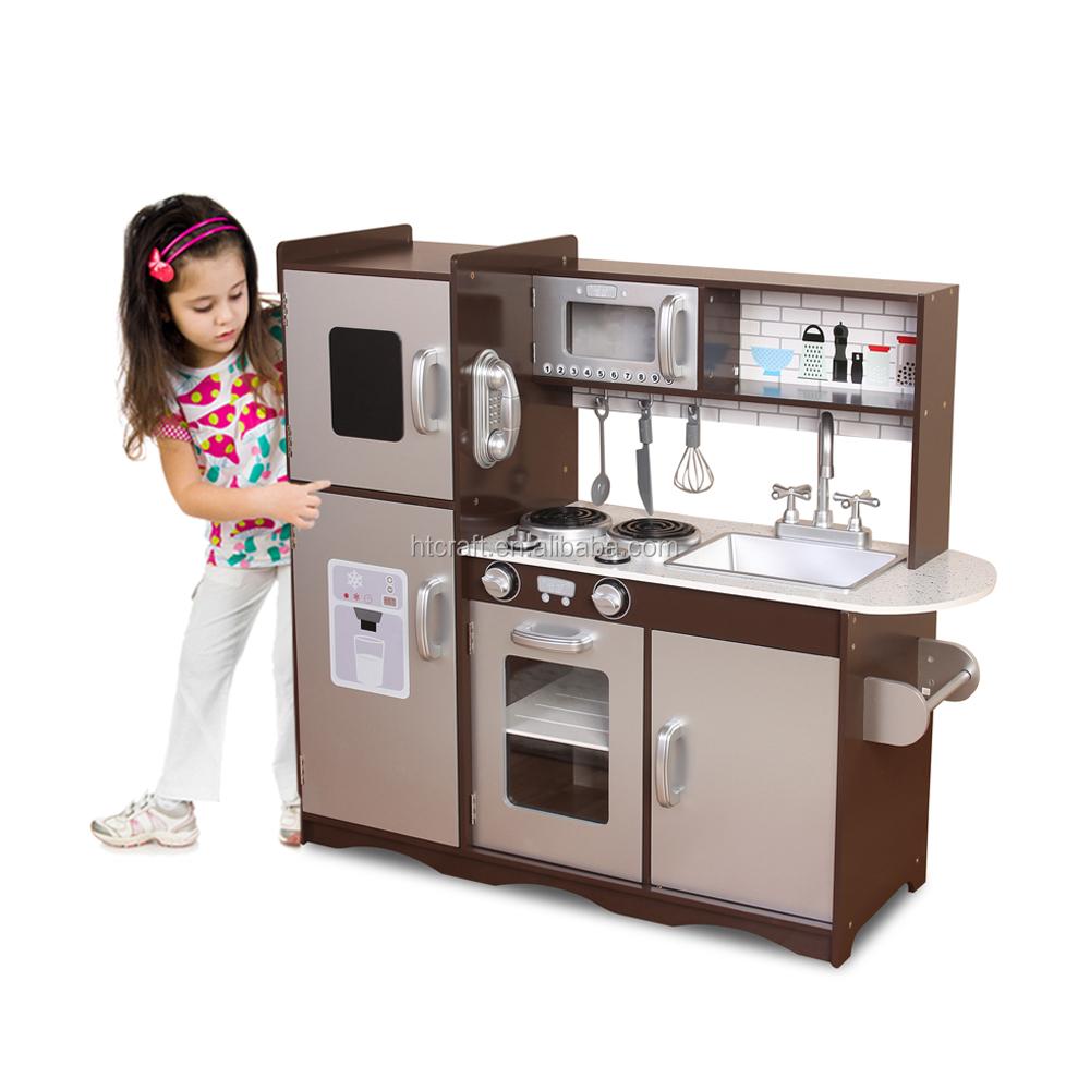 Square Espresso Wooden Kitchen Toy