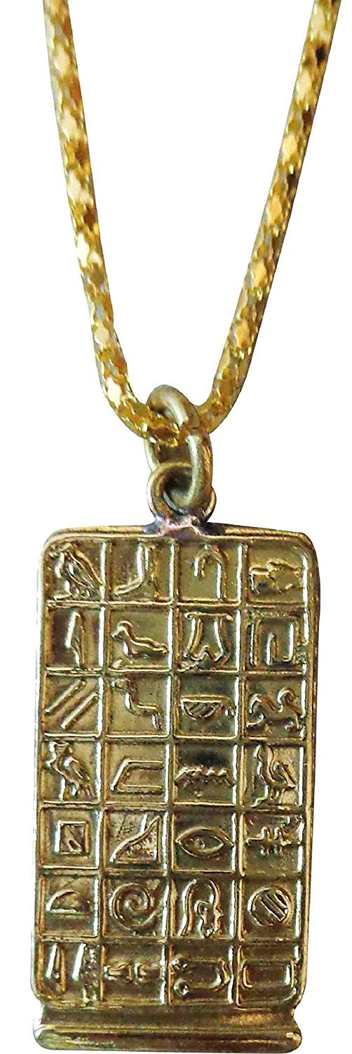 Sterling Silver or Gold Valentine/'s Day or Anniversary Gift For a Loved One Love Cartouche Pendant Egyptian Nameplate Necklace