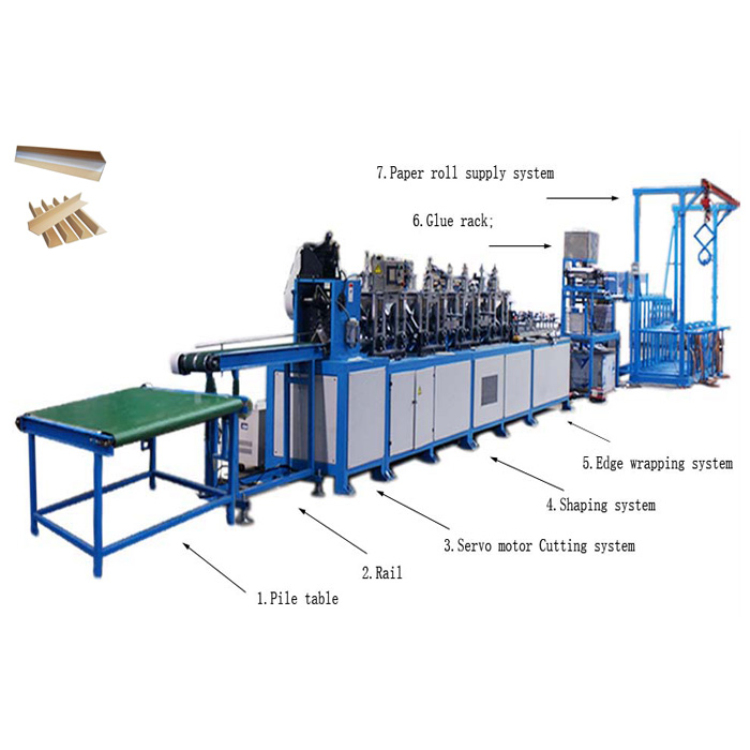 Top Quality Laminating Machine paper box corner pasting machine with good quality