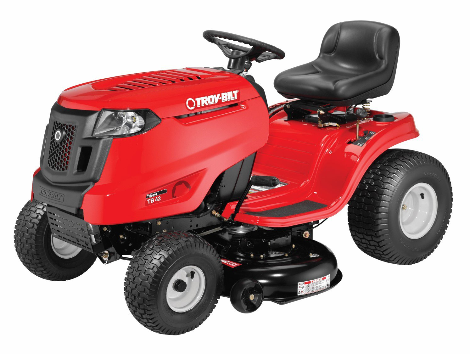 Get Quotations Troy Bilt Tb42 42 Inch 420cc Auto Drive 7 Sd Side Discharge Riding