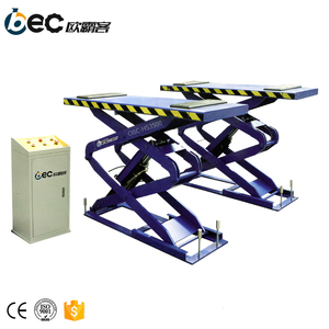 OBC-HS3500 Inground car lift hydraulic vehicle lifts garage used fixed scissor car lift work platform