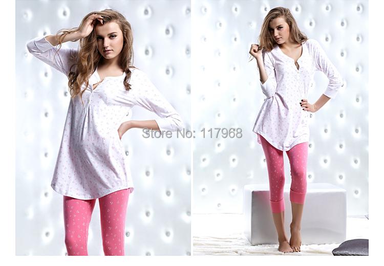 ce063fa2499 Cheap Ladies Cotton Pajama Sets