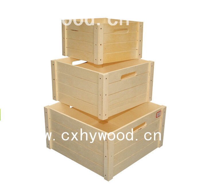 Cheap wooden wine crates for sale wholesale shipping boxes for Where to buy used wine crates