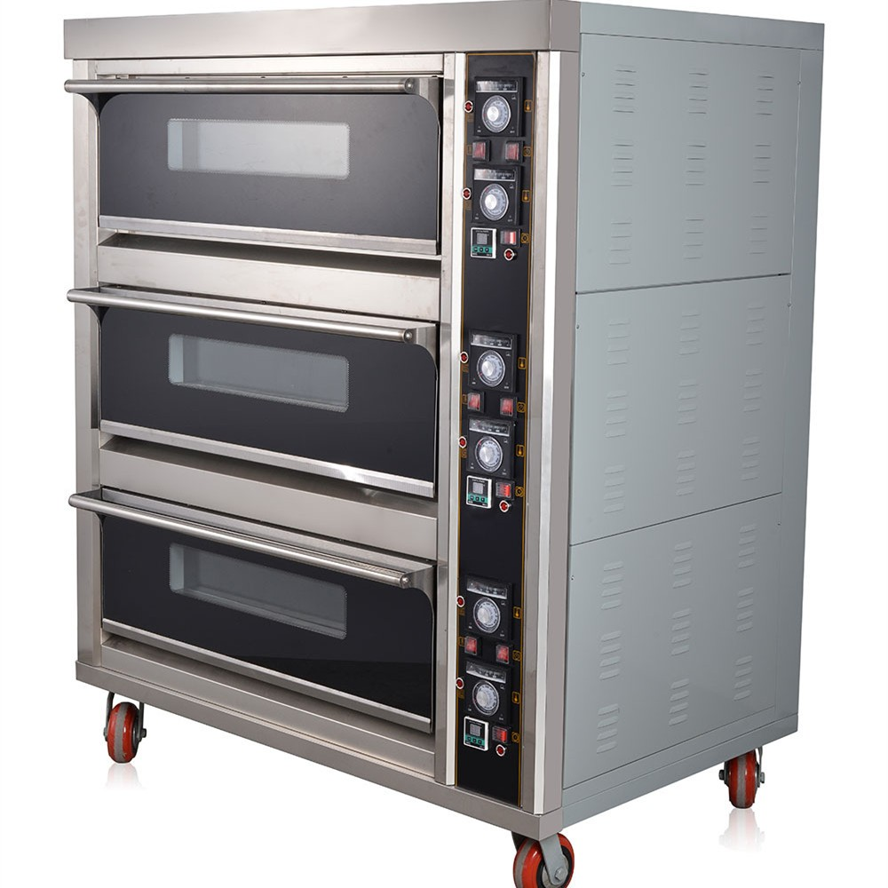 Commercial Electric Bakery Machines For Bread Making Pizza Deck ...