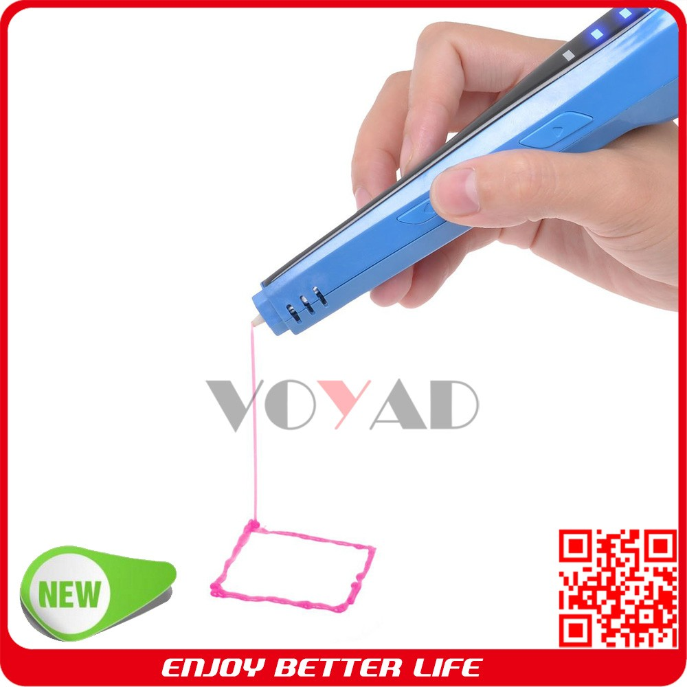 Smart design 3d printer pen new toy pen no need replace pen nozzle head