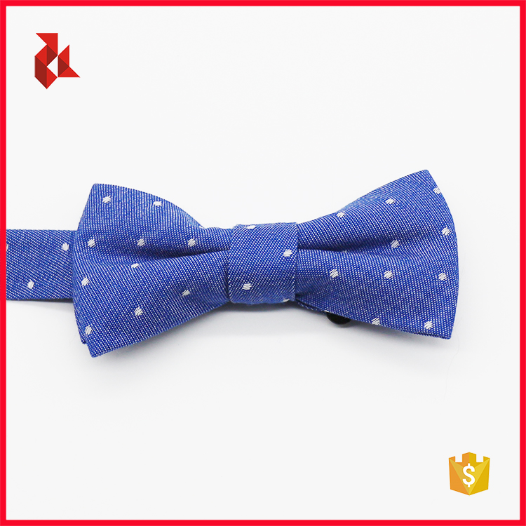 Custom Adjustable Cotton Kids Baby Bow Tie
