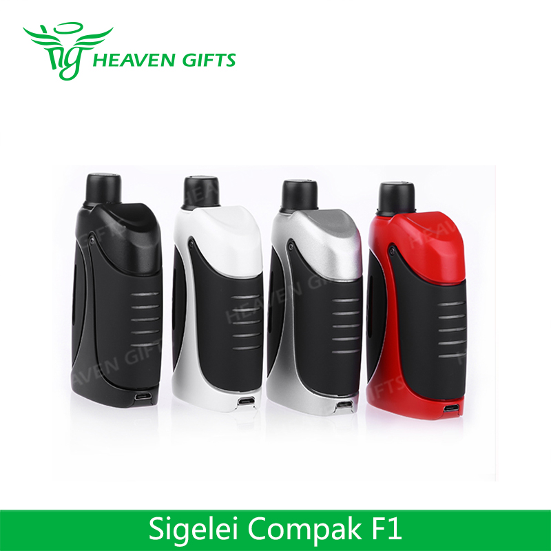 HeavenGifts Rubber-oil material electric e cigs 2ml 40W 2000mAh Sigelei Compak F1 Kit