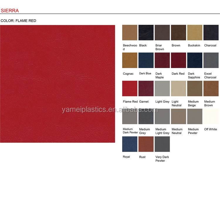 china synthetic pvc leather for sofa