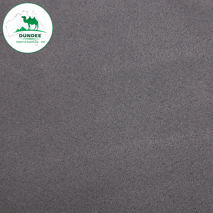 0.6mm Nonwoven synthetic microfiber suede PU <strong>leather</strong> for shoes clothing