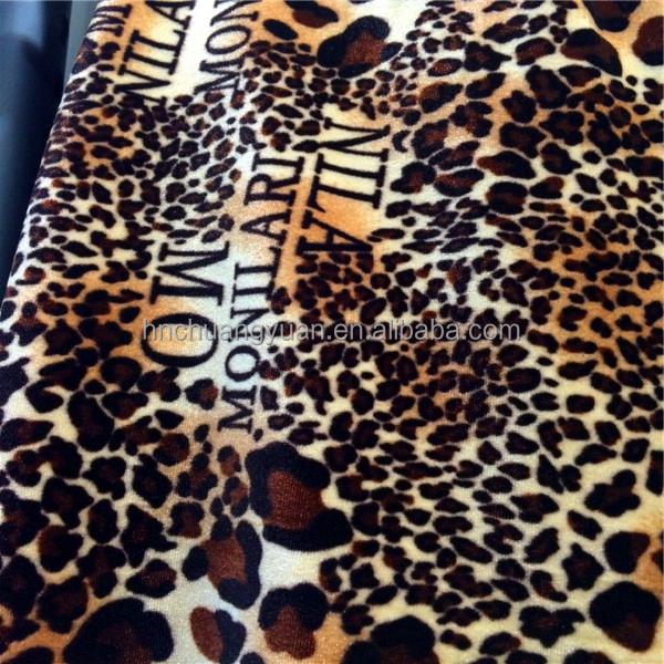 سوبر لينة جديد تصميم دنة الطباعة المخملية النسيج لفستان
