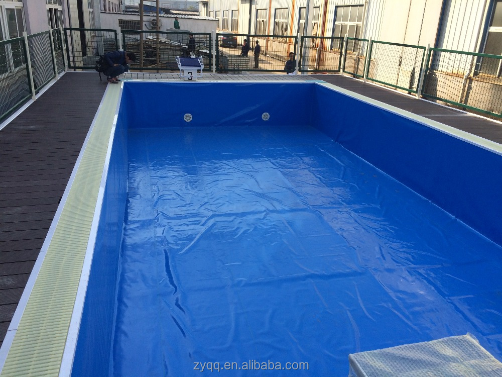 Nata o piscina infl vel de pl stico caixas de p de gua for Plexiglass pool enclosure