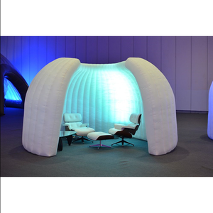 Portable Indoor Inflatable Office Tent / Inflatable meeting room tent / Inflatable rest room With Led Decoration