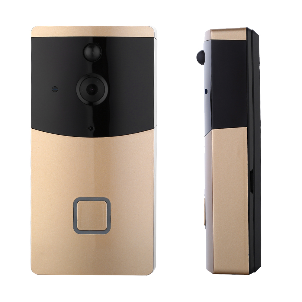 2018 Hot Sale Hisilicon WIFI Video Doorbell, Smart Doorbell 720P HD Wireless Wi-Fi Video Doorbell Camera with Indoor Chime