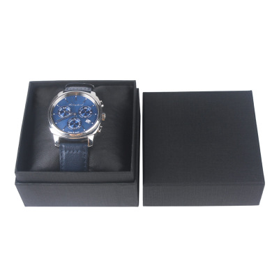 High grade watch box packaging box customized black square watch box
