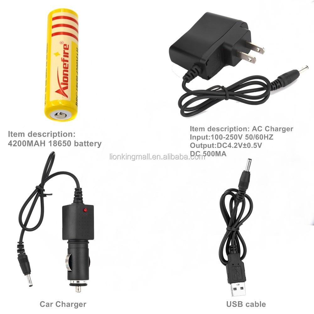 Xm L Usb Alonefire Hp87 De Voiture Buy T6 Haute Chargeur Puissance Batterie Frontale Lampe Led2x18650 Câble XwOZukTPil