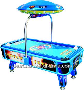 Russia High Quality Electronic Arcade air hockey games machine equipment factory DF-L 035