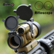 WaterProof M2 Red / Green Dot With L Shaped Mount Sighting Telescope , Holographic Sight Scope
