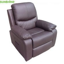 Functional Power Top Grade Leather OKIN Recliner Lift Sofa Chair (Dual Motor)