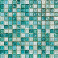 China Foshan Factory Price china glass mosaic ,Glass Designs Wall Tiles Mosaic For Living Room
