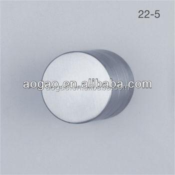 Round Flat Door Knob For Toilet