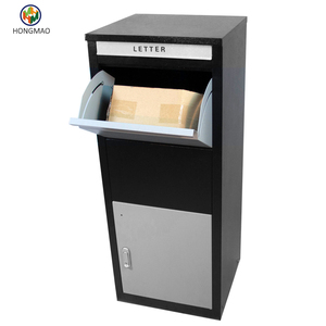 Outdoor Metal Newspaper Holder Mailboxes Parcel Secure