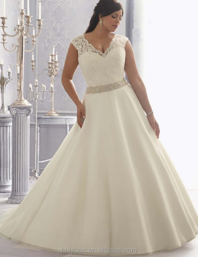 Wedding Gowns For Large Women
