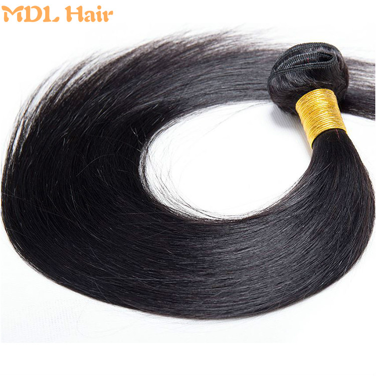 Last long time natural color shedding free tangle free 8a grade remy brazilian hair mink straight hair bundles