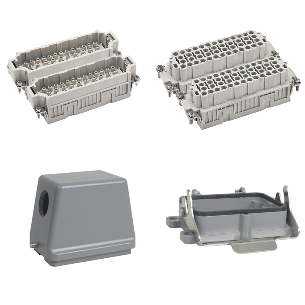 HEE-092 Whole set of 92 pins Top Entry Power Connector from Wenzhou, industrial usage plug