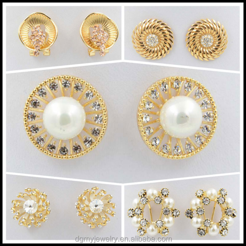 Fashionable Gold Earring Models Latest Design Diamond Earring ...