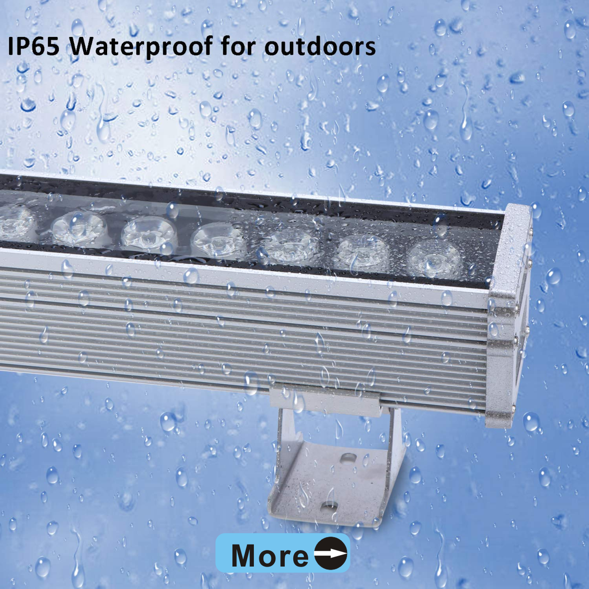 IP65 Waterproof Aluminum led wall washer light outdoor 18w led strip wall washer light