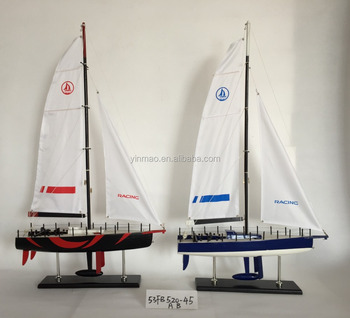 Europa Fast Speed Racing Yacht,4 Sets 45x11 5x78cm,Wooden Sailing Boat  Model,Best Nautical Gift - Buy Rc Model Boat Yacht,Classical Gift Set,Steel