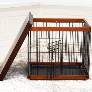 2018 Trade Assurance Wooden Dog House, Wooden Dog Cage For Sale Made in China