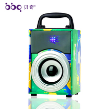 2018 Professional DJ Songs MP3 Free Download Wooden Stereo Speakers 4inch 8W 600mAh bijela bluetooth speaker