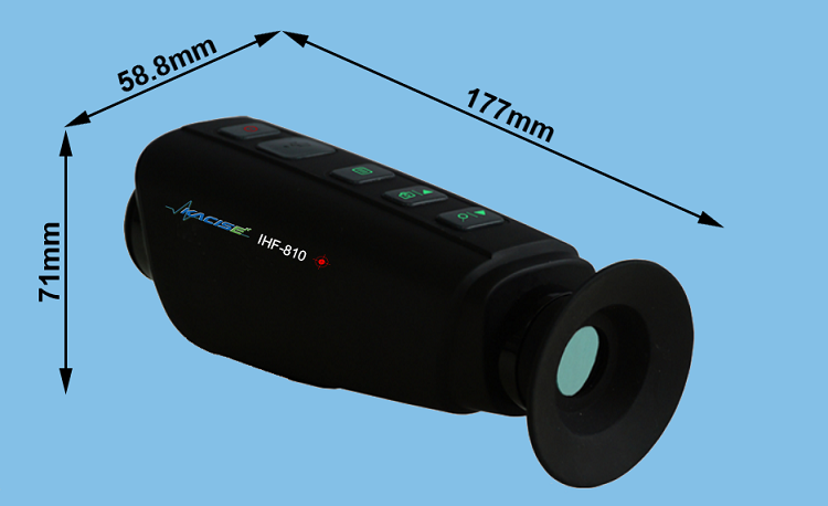 IHF-810 cheap china made low price high performance night vision hunting infrared thermal monocular camera