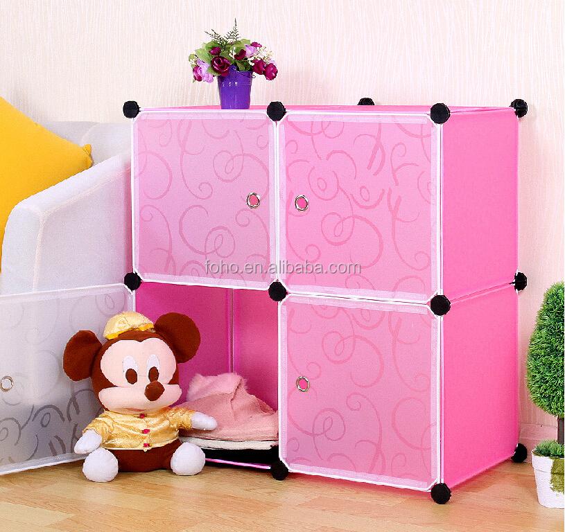 Amazing DIY Assembly Stackable Plastic Storage Cubes FH AL0038 10