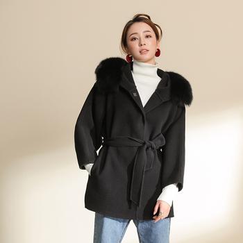 Manteau pour femme cachemire