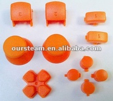 8 in 1 Whole Set Orange Buttons for PS2 Controller