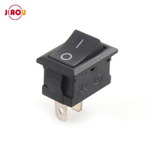 JIAOU KCD1-101 Posição SPST 2 Pin 2 21*15MM ON-OFF Boat Rocker Switch Switches