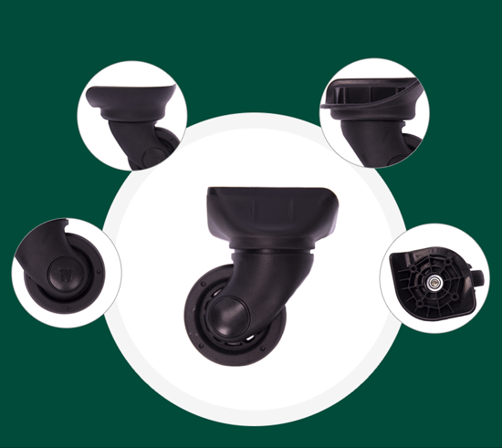 Parts of spinner wheel replacement