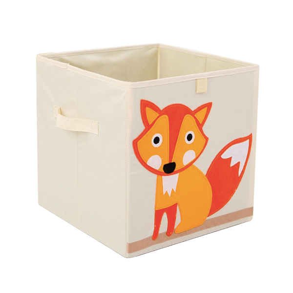 Eco-friendly Cheap Foldable Fabric Cute Toy Storage Bin, Storage Bins