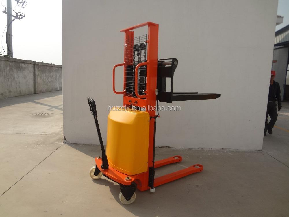 Hydraulic Pallet Lifters : Kg semi electric pallet lifter hydraulic