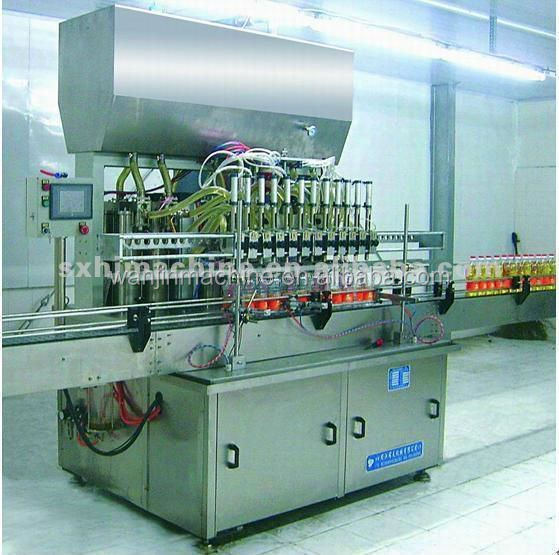 automatic filling oil production line/sunflower oil filling