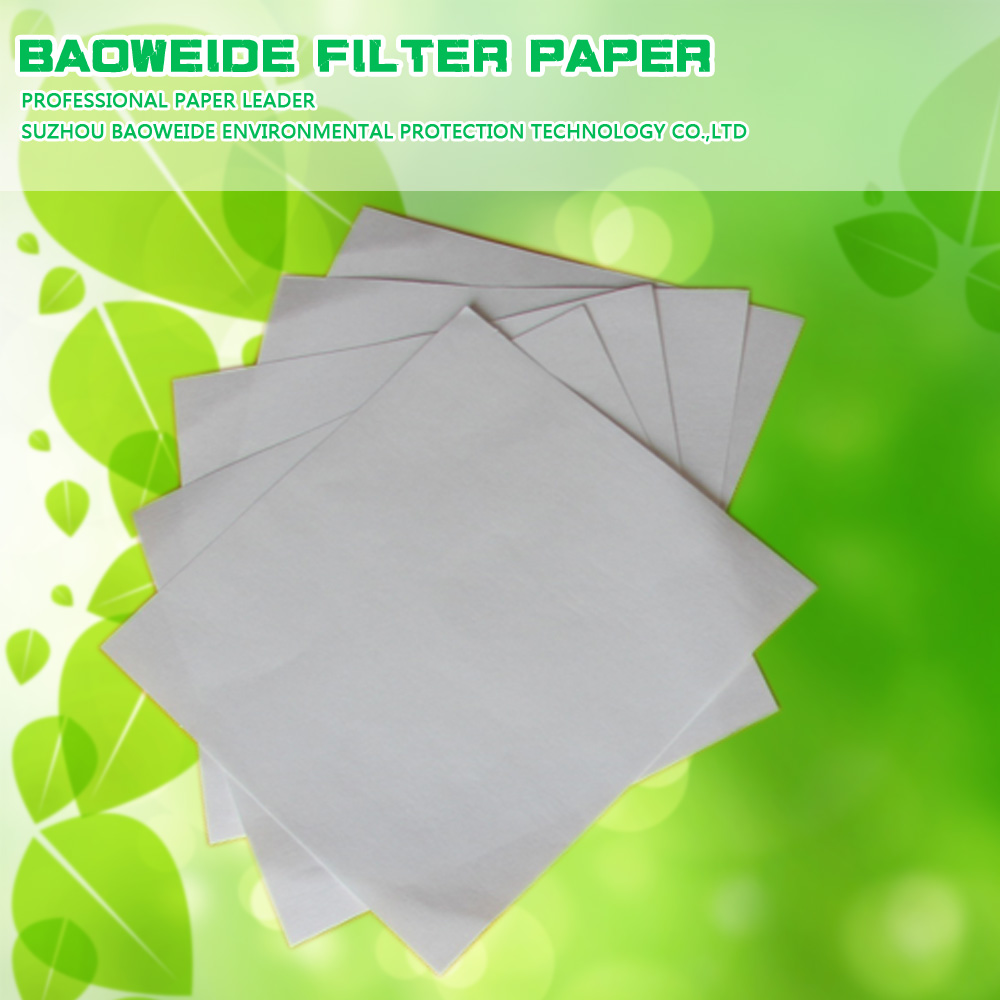 China manufacturer supply 90cm*90cm activated carbon special filter paper in stock