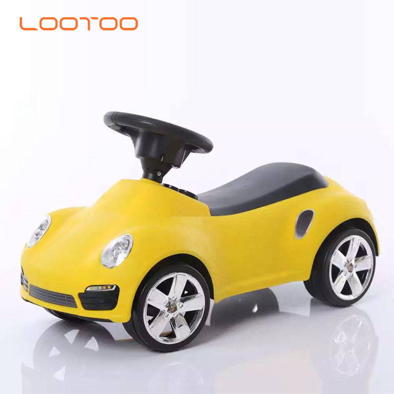 China factory wholesale high quality plastic children ride on toys with light and music