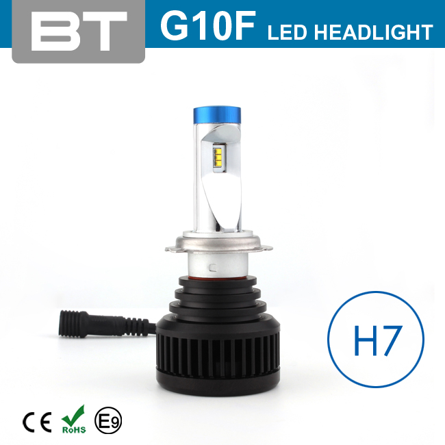 2016 Non-Polarity Best Quality Heat Dissipation 9-32V Car Auto Led H7 Headlight