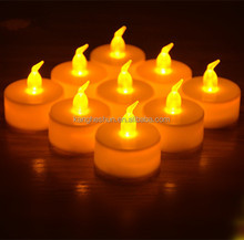 Flickering Mini Battery Operated LED Tealight LED Birthday Candle