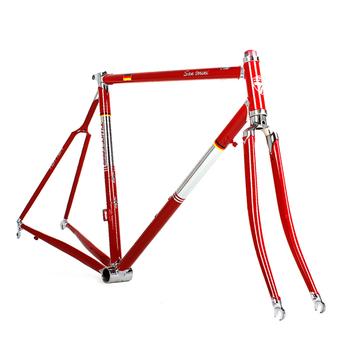 China Steel Frames Kit 700C Road Bike Frames Apply To Wheel Size  451#(22u0026quot
