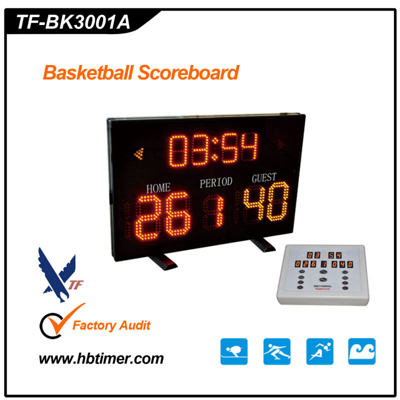 led electronic basketball scoreboard score board sign