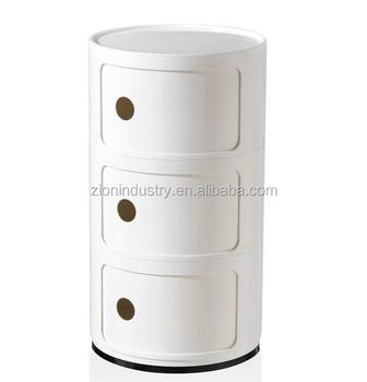 Replica Round Componibili Storage Cabinet - Buy Bedroom Storage ...
